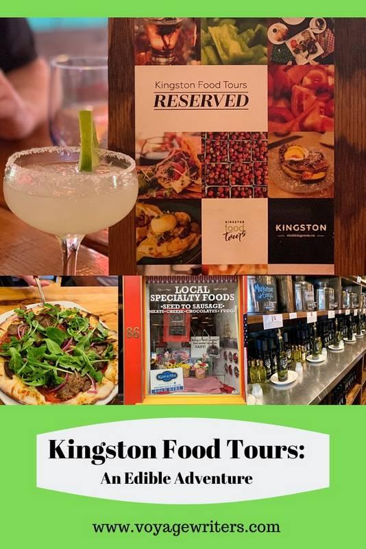 Kingston Food Tours Pin Image