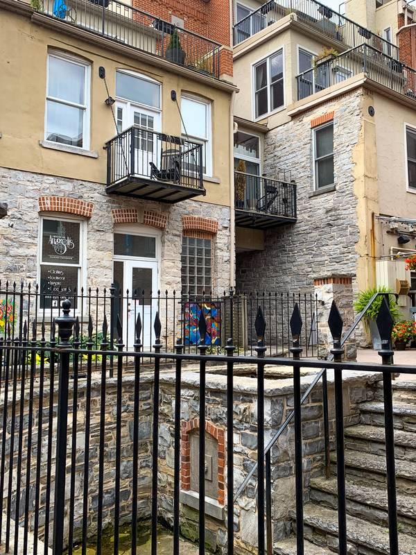 Limestone Alleyway in Kingston in Rocheleau Court